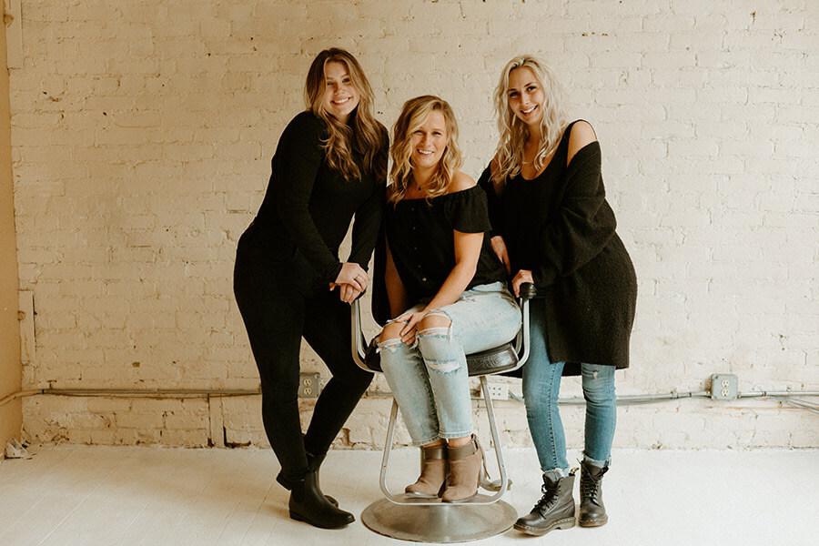 Casca beauty staff three women